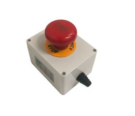 Emergency Stop IP54 Waterproof with mount plate