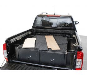 Nissan Navara D23 DC Deck Completion Set - by Front Runner