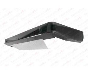 Heavy duty rear bumper without swivel recovery eyes for Range Rover P38