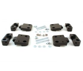 FerroForcia 2-side doors hinge set (unassembled / paint yourself)