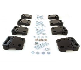 FerroForcia 4-side doors hinge set (unassembled / paint yourself)