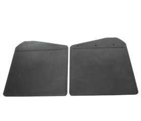 MUD FLAPS - FRONT - PAIR - PLAIN - DEF 83-06