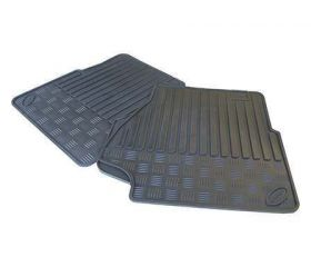 DEFENDER FRONT PAIR MAT SET (LT77 & R380 AND 2007 ONWARDS)