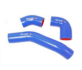 TERRAFIRMA SILICONE INTERCOOLER HOSE KIT BLUE 90/110/130 Td4 2.2